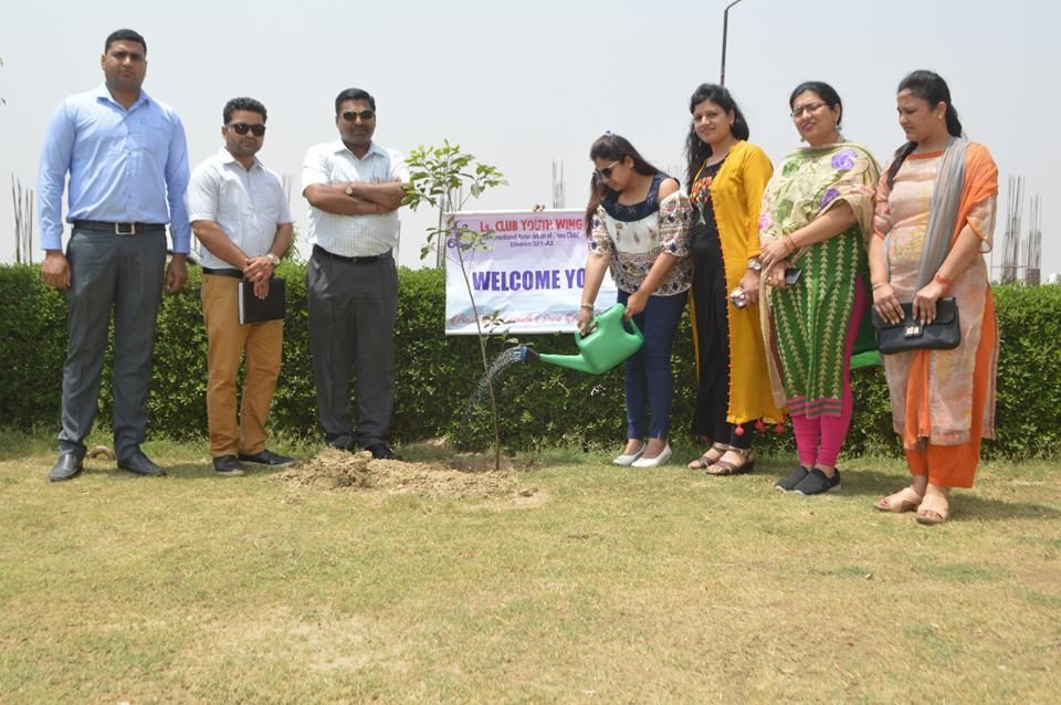 GIP pharmacy college in delhi- Events( Tree Plant)