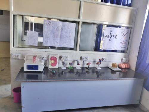 Human Anatomy and Physiology lab